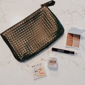 NWT Ipsy Makeup Bag & Bundle